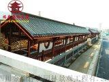 成都廊架厂,实木长廊厂家,定制安装