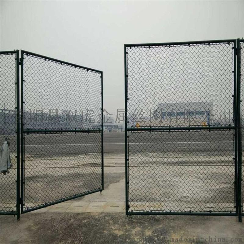 体育场护栏 包塑勾花网  球场护栏网