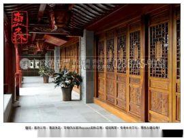 西昌哪里有木制门窗 火锅店仿古装饰门窗