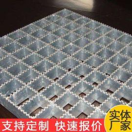 楼梯平台踏步热镀锌钢格板 洛阳化工厂防滑钢格板污水池盖板厂家