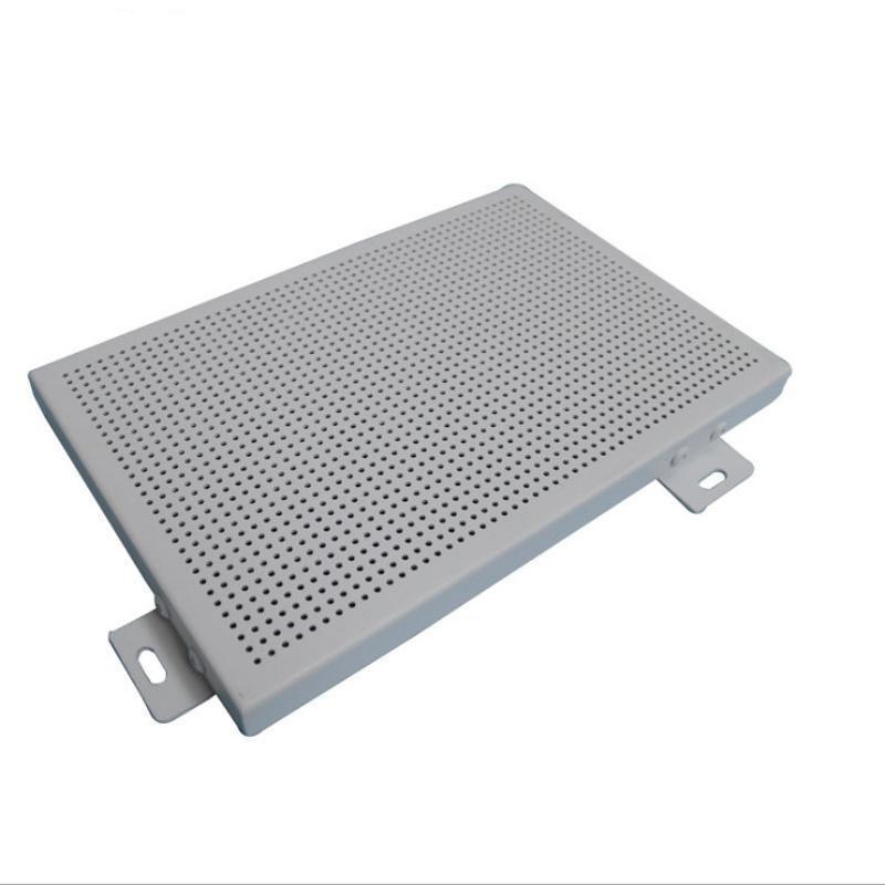 厂家直销铝单板2.5mm氟碳冲孔幕墙铝单板工程外墙