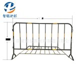 厂家生产移动施工铁马防护栏 临时市政道路隔离护栏 钢管围栏