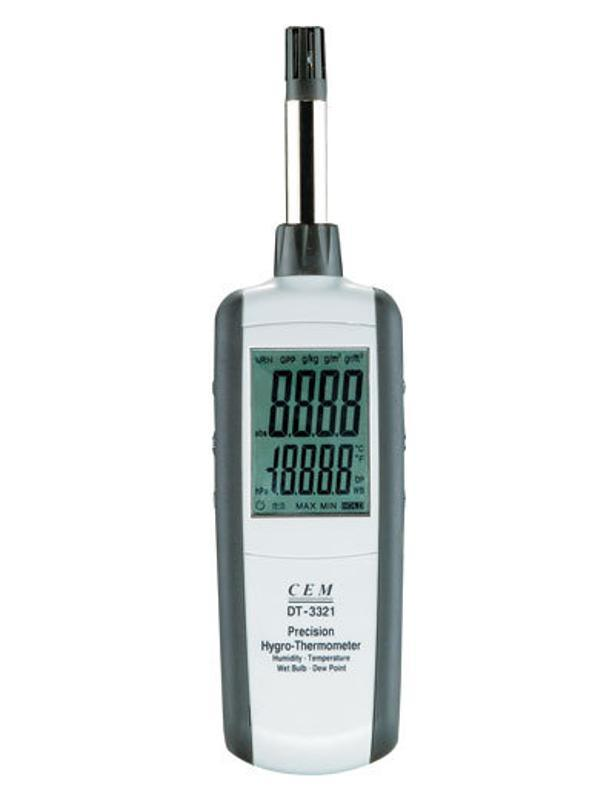 CEM华盛昌 DT-321S 温湿度计 空气温湿度测量仪 露点温度湿球温度