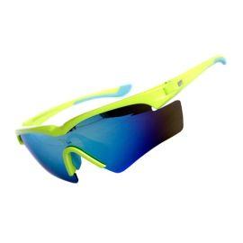 廠家供應批發時尚運動護目防風偏光騎行戶外自行車太陽眼鏡