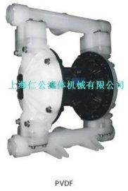 聚偏 乙烯气动隔膜泵RG40,RGB5A11,3/4塑料消声器