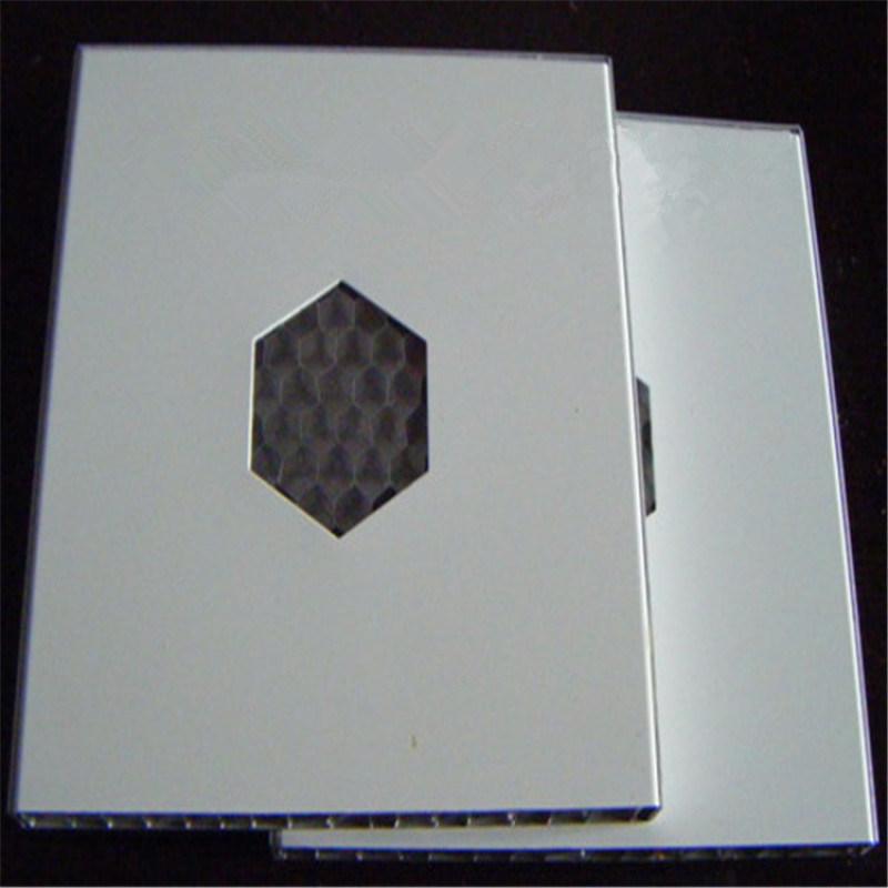 隔音吸音铝蜂窝板室内装饰仿震仿噪音效果铝蜂窝板