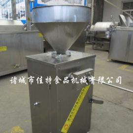 自动操作的香肠机多少钱一台 辽宁全自动香肠灌肠机