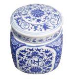 景德镇日用陶瓷糖罐,蜂蜜罐