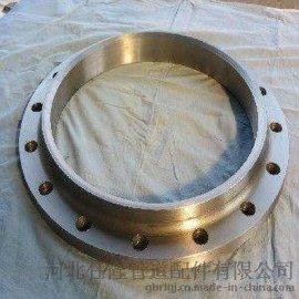供应碳钢不锈钢合金钢锻造各种尺寸压力带颈平焊法兰(DN10-DN600)