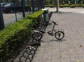 自行车停放架厂家-上海自行车停放架厂家