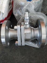 Q41F-16P不锈钢法兰球阀 CF8 CF8M 不锈钢软密封球阀手动气动电动