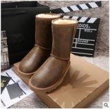 工廠批發 5984毛皮一體雪地靴 中筒靴子