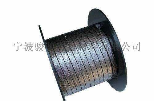 棉纖維+芳綸纖維增強石墨編織盤根