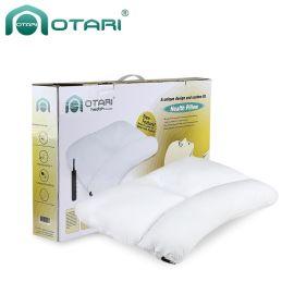 可调充气枕,保健枕头,修复颈椎枕成人护颈枕