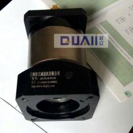 上海权立PF115精密齿轮行星减速机, 伺服减速机微型低背隙 配步进/伺服减速器