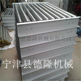 德隆生产供应滚筒输送机木屑输送机