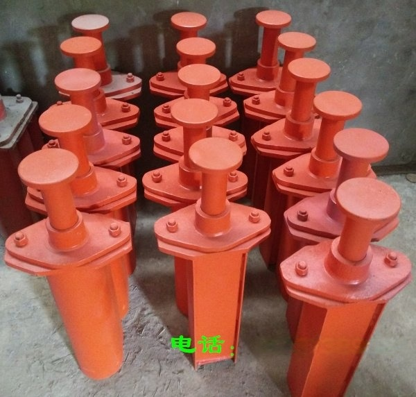 弹簧缓冲器型号 HT3-1600 端部安装式弹簧缓冲器 压缩行程120 电梯汽车弹簧缓冲器