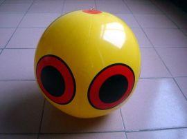 充气球 工厂定做赶鸟球 pvc充气笑脸球