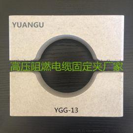 变电站高压电缆固定夹与电缆抱箍材料展示