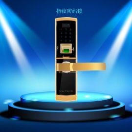 光学秒识别智能指纹密码锁 **防盗触屏指纹电子锁 办公商务门锁