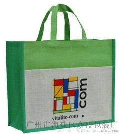 天然麻布环保手挽袋