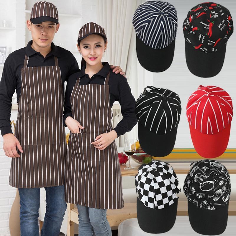 棒球帽西餐厅厨师帽咖啡厅服务员工作帽子蛋糕店奶茶服务生鸭舌帽