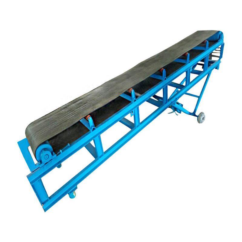 移动式砂石运输机专业制造皮带输送机厂家结构简单、维修方便