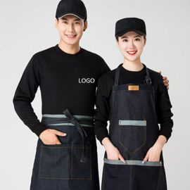 春季卫衣薄款定制班服超市服务员工作服餐饮火锅店外套