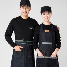 春季衛衣薄款定制班服超市服務員工作服餐飲火鍋店外套