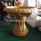 歐式玻璃鋼花鉢造型 戶外落地大花鉢