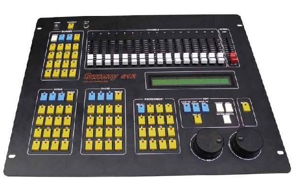 DMX512电脑灯控台