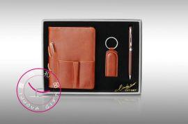笔记本,钥匙扣,笔商务礼品套装