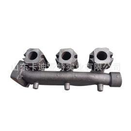 重汽 斯太尔王 系列配件 后排气歧管VG2600111136 厂家图片价格