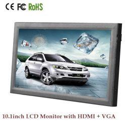 10.1寸16:10(16:9)智通家居用触摸屏显示器,超薄宽屏HDMI VGA输入,带触摸屏