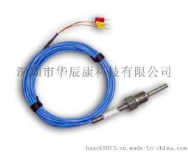 PT100厂家空压机专用热电阻,温度传感器航空插头式,航插