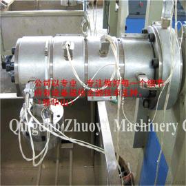 PPPE塑料圆丝拉丝机单丝收卷成型生产线设备