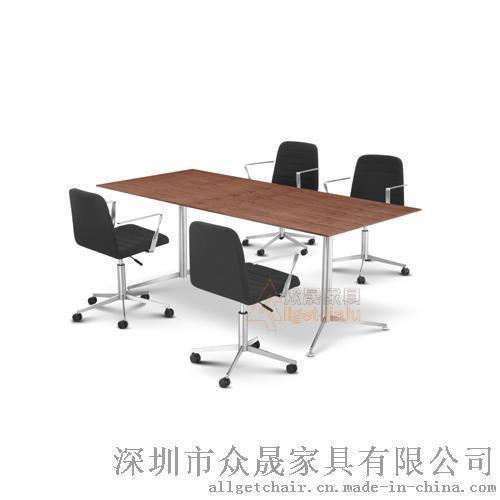 阅览桌 **家具学生桌椅定制 折叠洽谈会议桌厂家