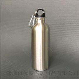 深圳供应不锈钢运动水壶 真  动水壶 保温保冷运动水壶