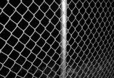 鍍鋅絲勾花網球場網斜房網編織網