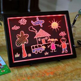 **热卖 新款儿童绘画板 LED电子绘画板 支持OEM定制