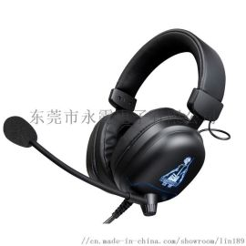 供应台盾游戏耳机电脑耳机头戴式发光耳机