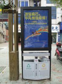 伯乐广告供应广告垃圾箱、户外灯箱、太阳能垃圾箱