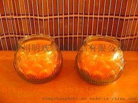 厂家供应 来样加工定做 玻璃罐 玻璃烛台 蜡烛台