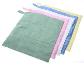 翰洋洁净不掉毛超细纤维洁净抹布食品药厂GMP车间用清洁毛巾加厚吸水30*30