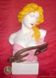 供應人頭雕塑 半身雕塑  工藝品