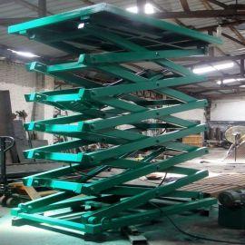 剪叉式固定升降机、液压升降平台广东生产厂家