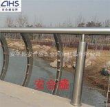 安合盛不锈钢复合管护栏厂家定制桥梁护栏 景观护栏 灯光护栏