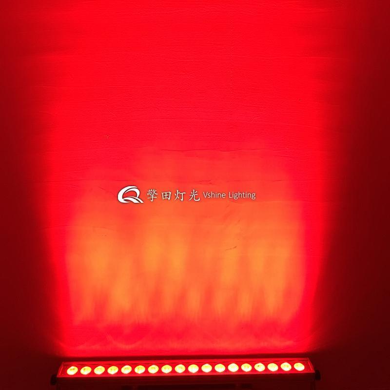 18颗六合一点控防水洗墙灯 墙面一体化洗墙灯  景观亮化洗墙灯 户外灯广州擎田灯光