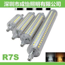 成怡照明LED R7S 78mm 118mm 5W 10瓦玉米灯泡