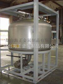 烟台不锈钢加工 IBC不锈钢化工罐